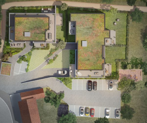Frasnes-lez-Anvaing immeubles rue du Vicinal Vue implantation 180201
