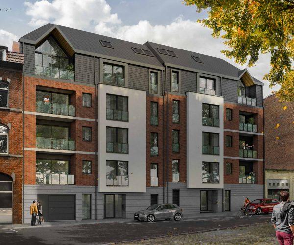 Superbe appartement à vendre au centre de Nivelles